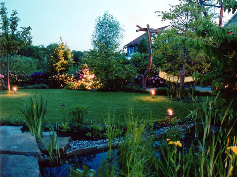 Lichtplanung Garten lichtplanung hansel