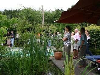 Mit über 800 Besuchern hatten wir wirklich nicht gerechnet, aber wir haben uns sehr über die Begeisterung der Dresdner für das Thema Garten gefreut.