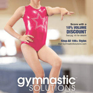 Our catalog direct response services client: Gymnastic Solutions