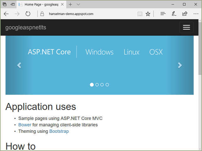 ASP.NET on Google Cloud