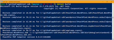Compiling WordPress to .NET Core