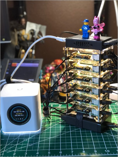 6 Raspberry Pi Kubernetes Cluster with Fabulous Batman on top