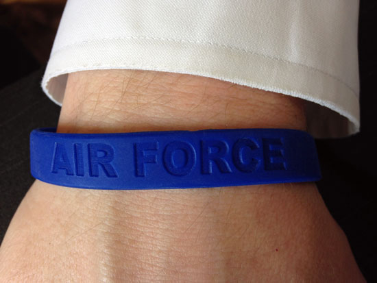 Air Force Wristband | Hansen-Spear Funeral Home - Quincy, Illinois