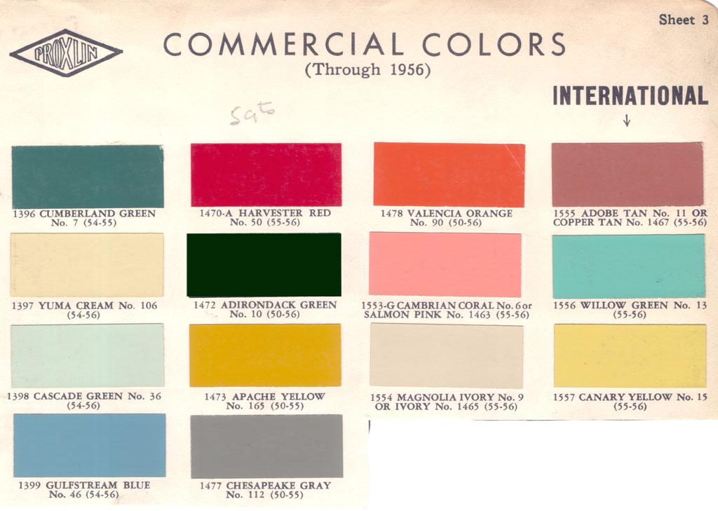 Color Jotun Paint Chart