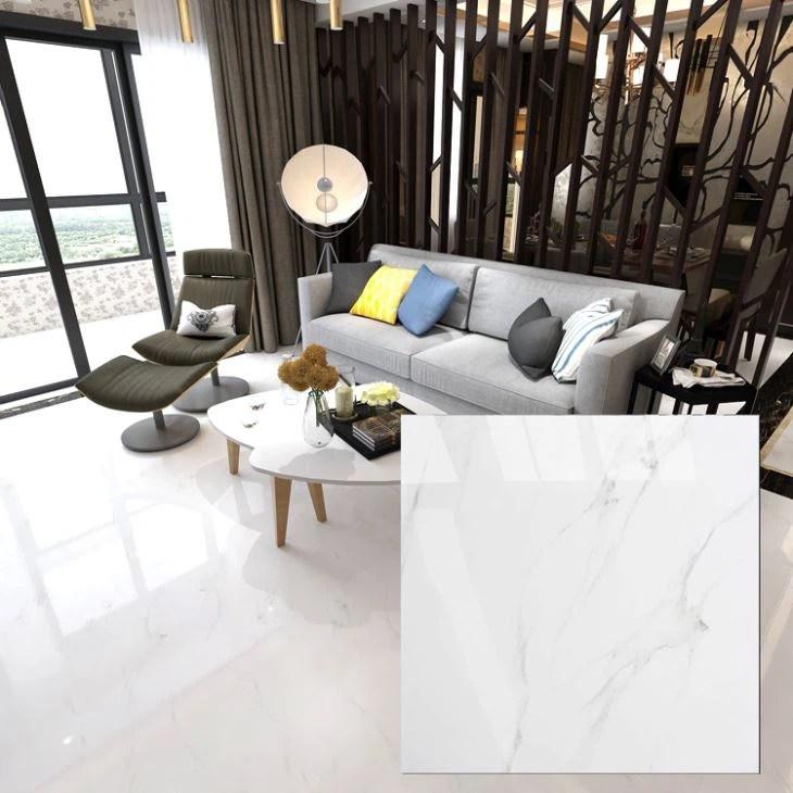 cheap 800x800mm white glazed porcelain