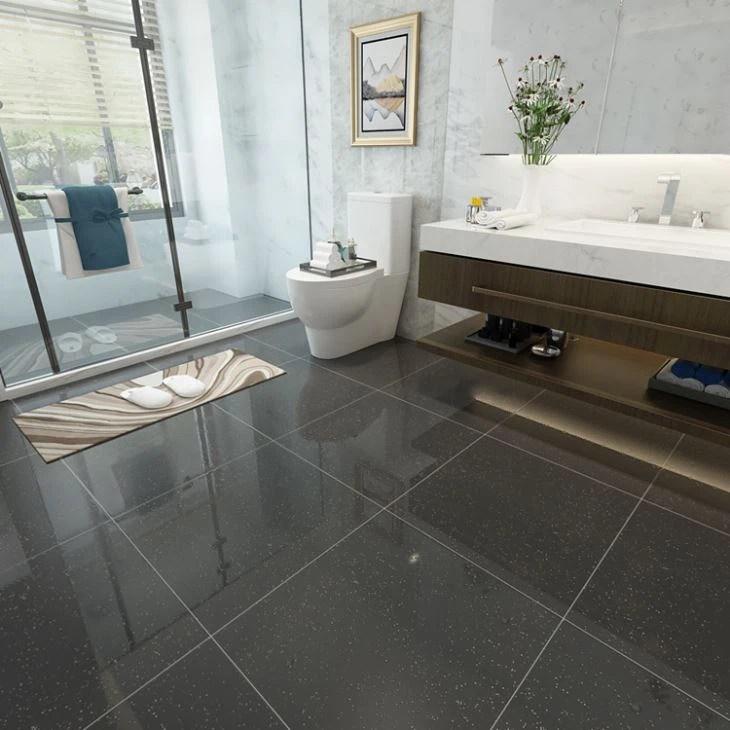 cheap unglazed porcelain tile in shower