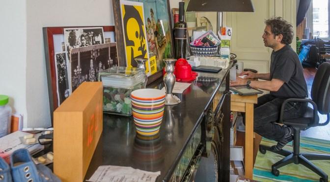 De studio van Max Kisman