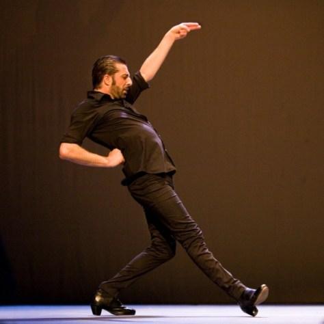 Andrés Marín op de Flamenco Biennale. Canon EOS 5D • ISO 3200 • f/2.8 • 1/50 @ 75mm. © Hans Speekenbrink.