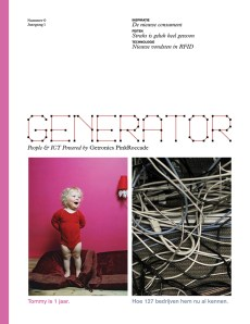 Generator Magazine ©Luis Mendo/ GOOD Inc. Getronics PinkRoccade / Hemels Publishers 2007 Magazine Proposal for IT clients