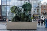 De Fontein op het Rokin van Mark Manders.