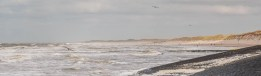 Vanaf de Pettemer zeewering, kijkend richting St.Maartenszee.