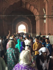 Gate of the Jama Masjid mosque of Delhi (8)