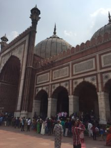 Jama Masjid mosque of Delhi