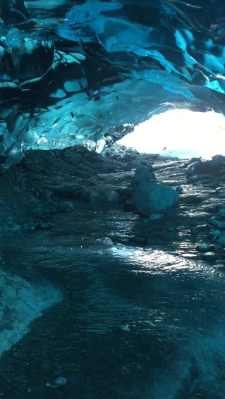 Ice Cave in Mendenhall Glacier vanished, a casualty of climate change
