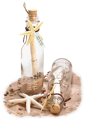 Let Us Spruce Up Your Wedding With Our Personalized Message In A Bottle Invitations