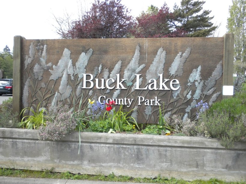 buck lake sign