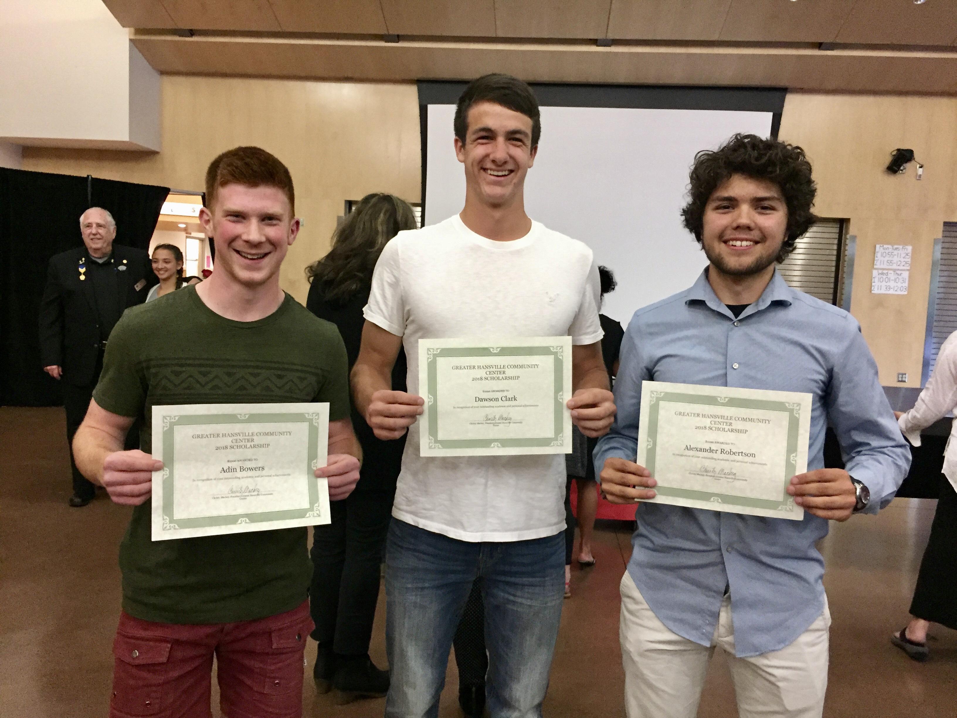 3 kingston scholars 2018