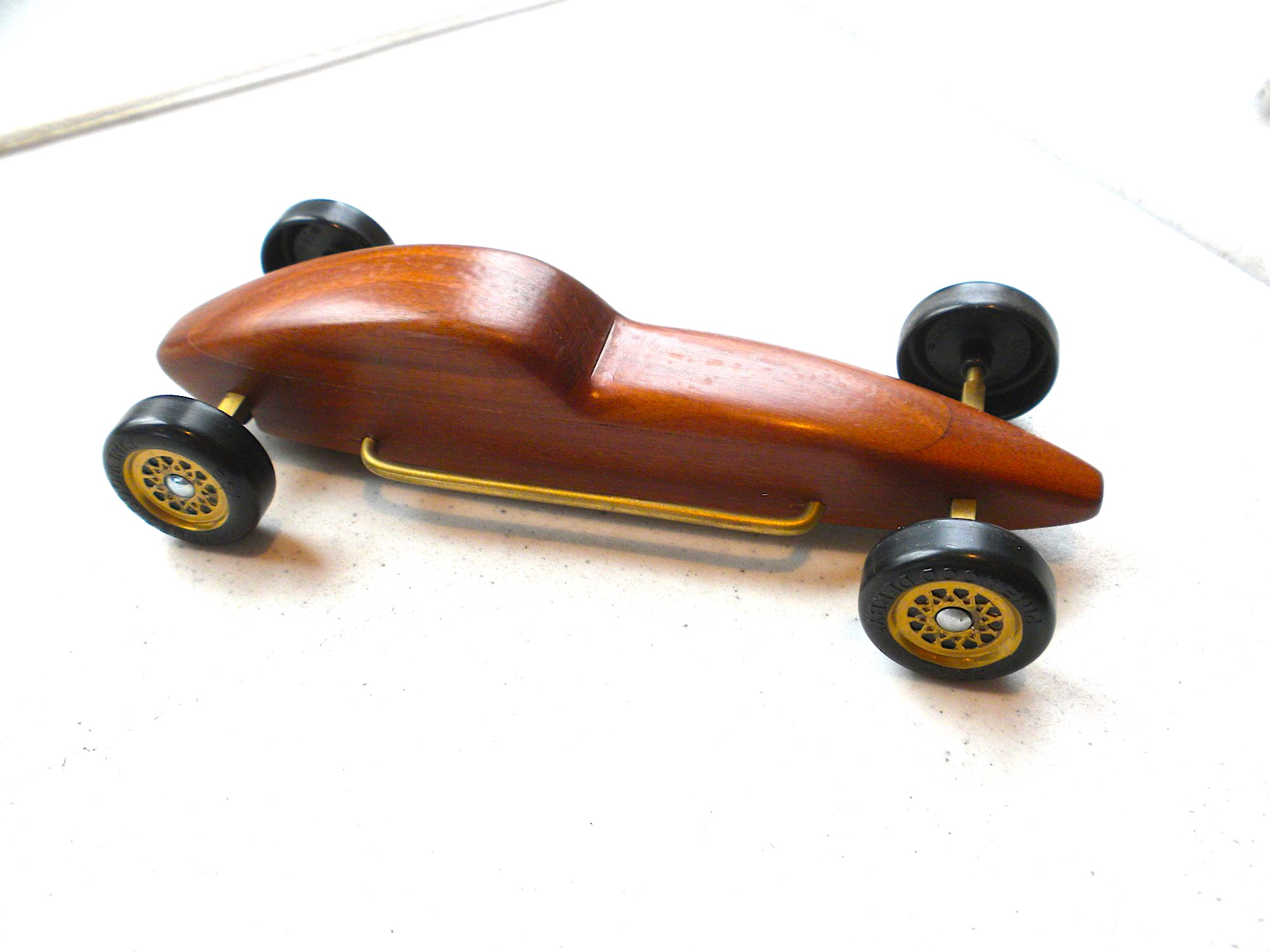 PWD Single Wooden Car