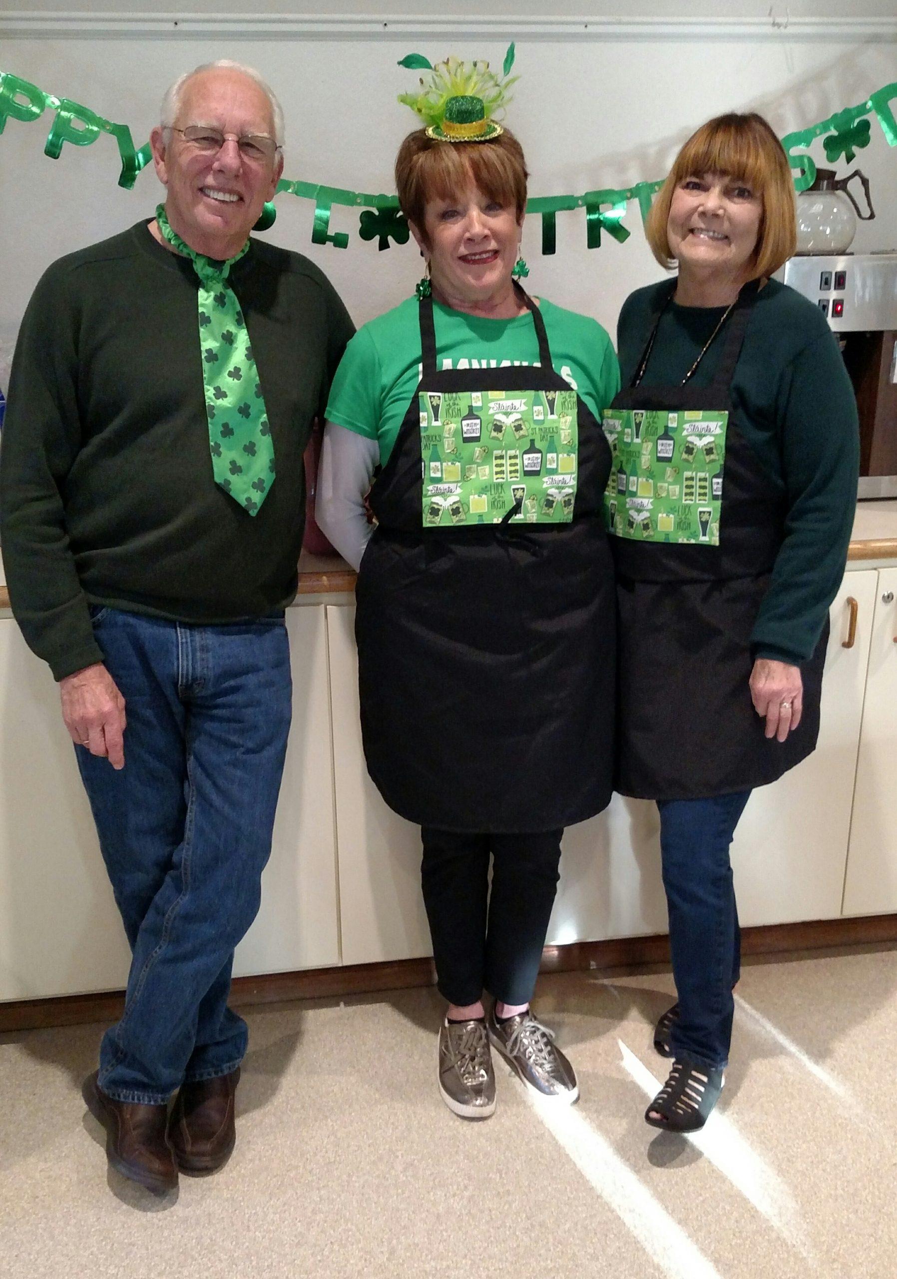 St Pats 2018 3 volunteers