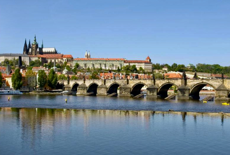 prague Bridge & Cathedral