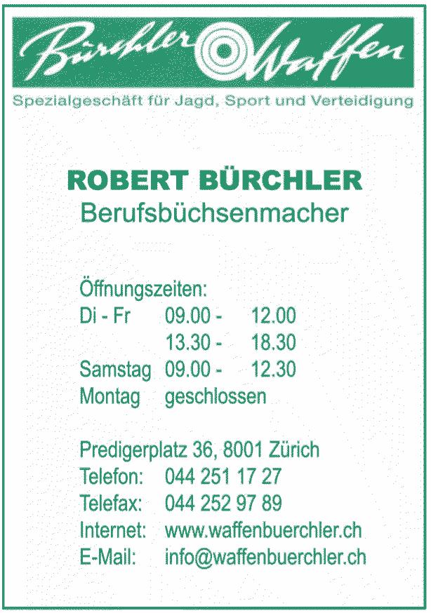 ürchler Waffen - Ihr Fachgeschäft für Sonderanfertigungen.