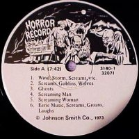 Johnson Smith Novelty Company Horror Record
