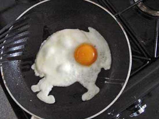 The Rabbit Target Egg