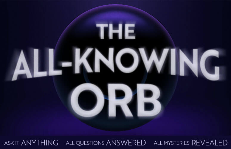 All-Knowing Orb - The Online Oracle