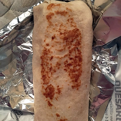 Virgin Mary Burrito