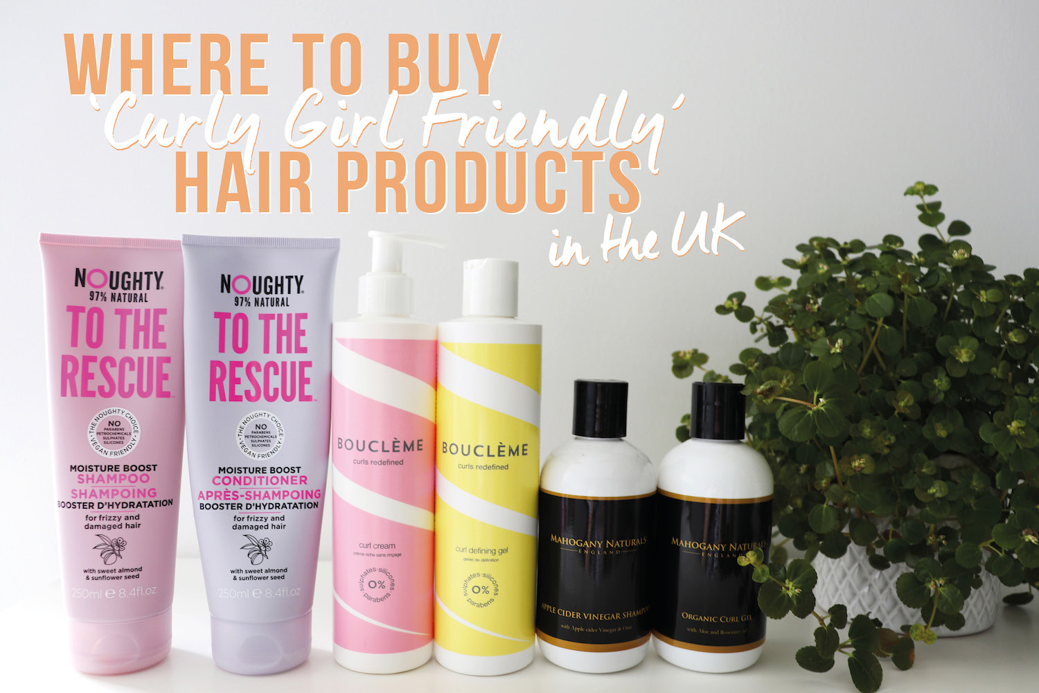 Where to Buy 'Curly Girl Friendly' Hair Products in the UK   HanzCurls