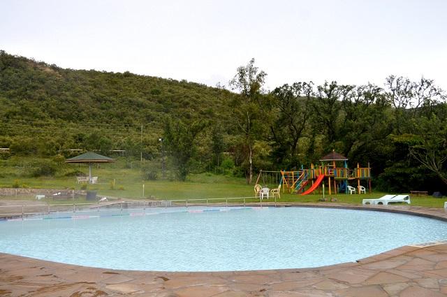 Ol Karia Geothermal Spa baby pool