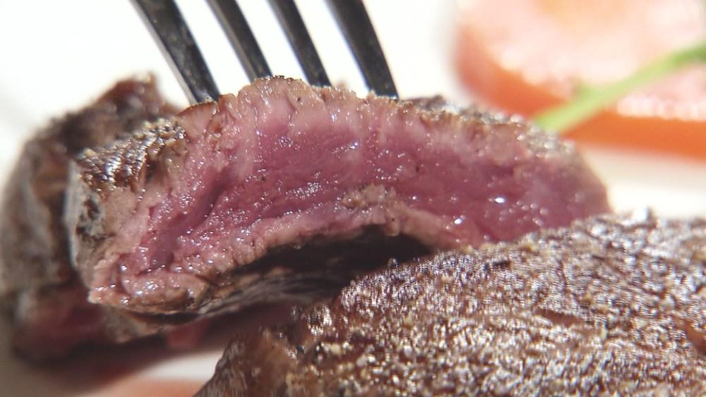 こだわりの県産肉をテッパンでいただくステーキ専門店