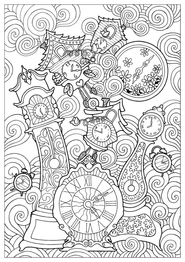 21 Adult Coloring Pages That Are Printable and Fun - Happier Human