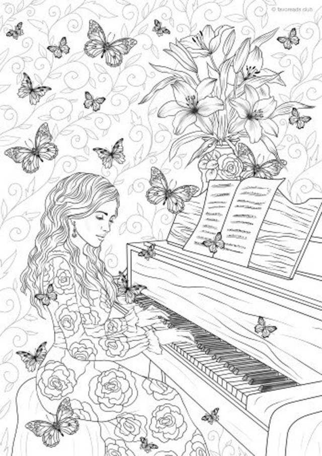 29 Printable Coloring Pages for Teens - Happier Human