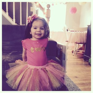 Tutu Cute Birthday Girl | HappilyFrazzled,com
