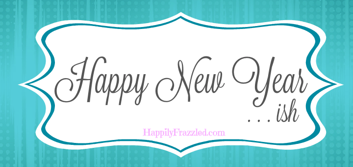 Happy New Year! Time to re-evaluate last year's goals and resolutions and set some new ones!