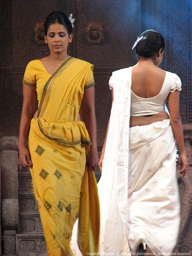 sari for sangeet