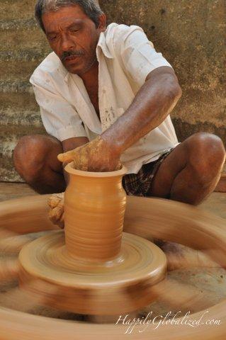 A potter
