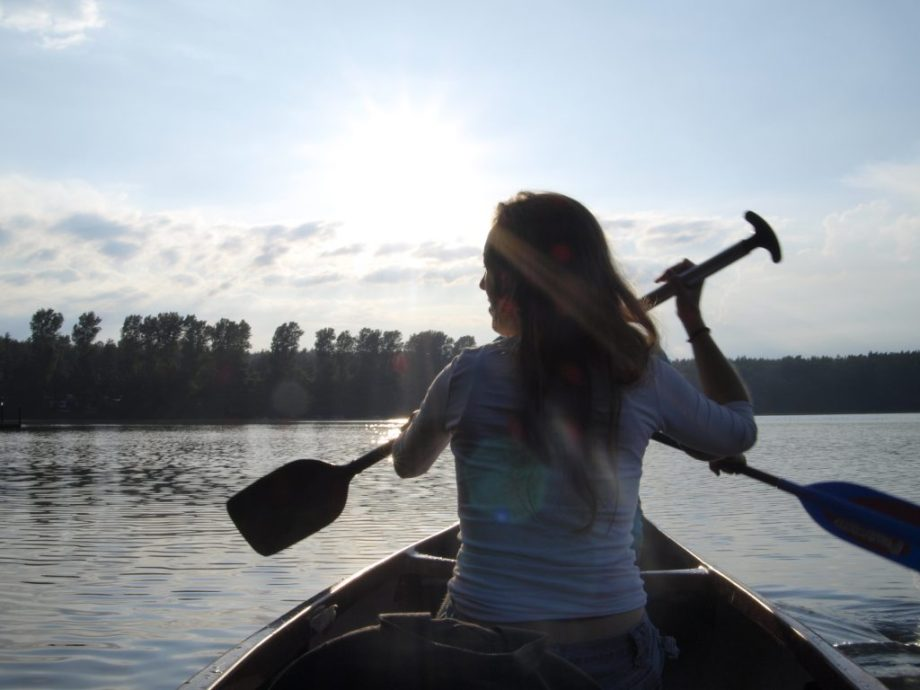 Paddling in Brandenburg