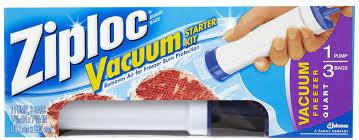 ziploc vacuum