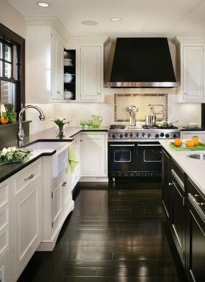 Black-and-White-Kitchen