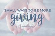 be-more-giving