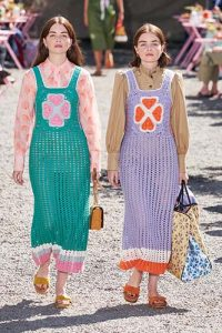 Kate Spade Crochet Dresses photo by Alessandro Lucion GoRunway