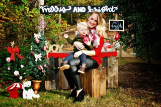 Family Christmas Pictures by Atlanta mom blogger Happily Hughes