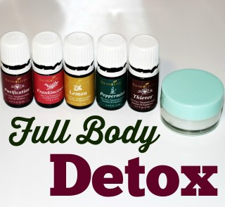 Full Body Detoxwith Essential Oils
