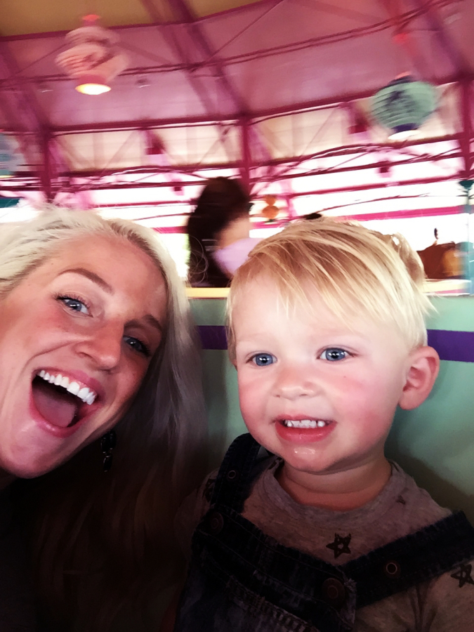 Toddler Magic Kingdom - Disney World With Toddlers by Atlanta travel blogger Happily Hughes