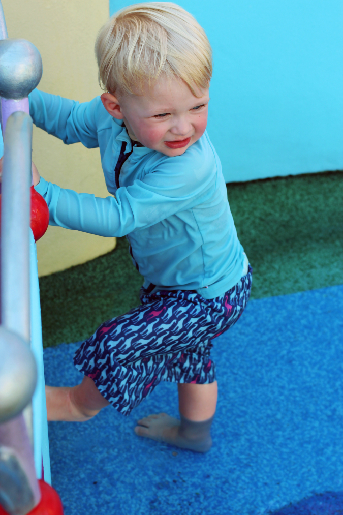 Swimzip - The Best Kid Rides At Universal Studios For Toddlers by Atlanta travel blogger Happily Hughes