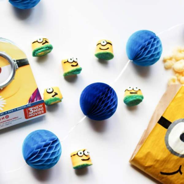 Minions Movie Night Crafts and DIY