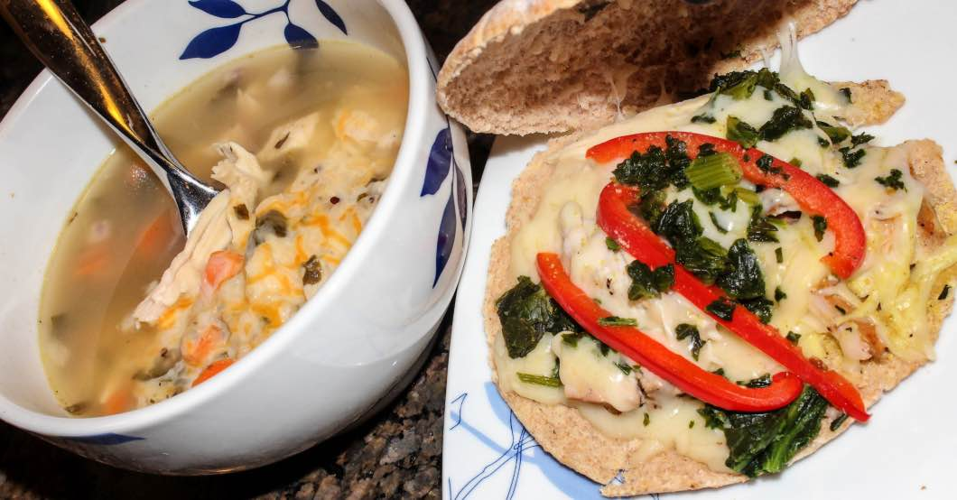Healthy Turkey Leftover Recipes with Garlic Festival