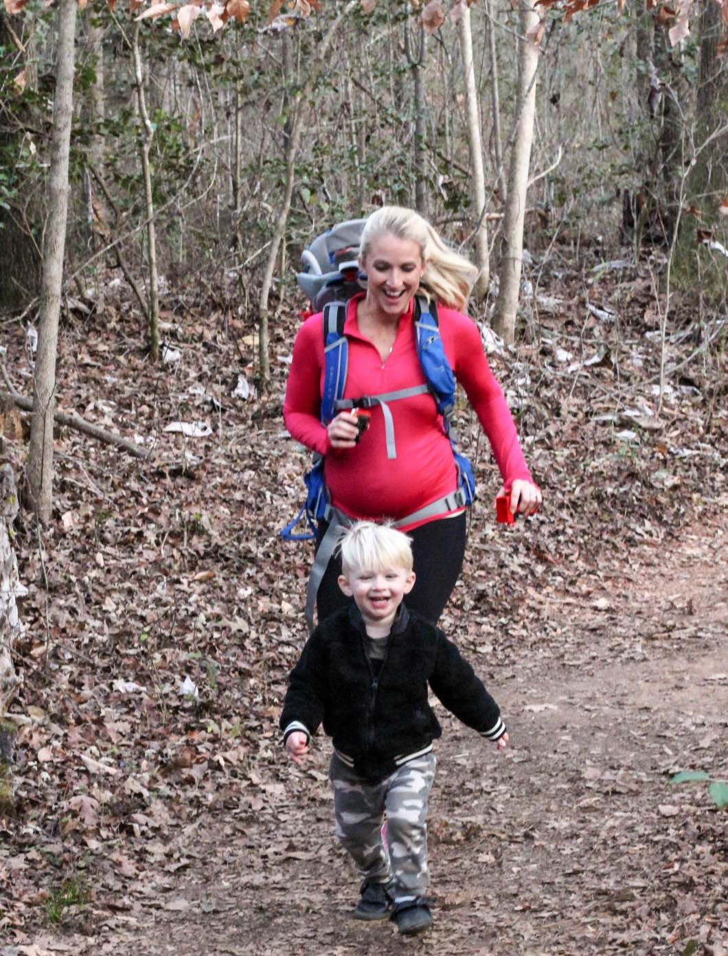 37 Weeks Hiking with the Family